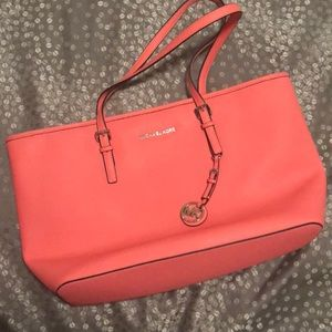 Michael Kors large leather tote *authentic*